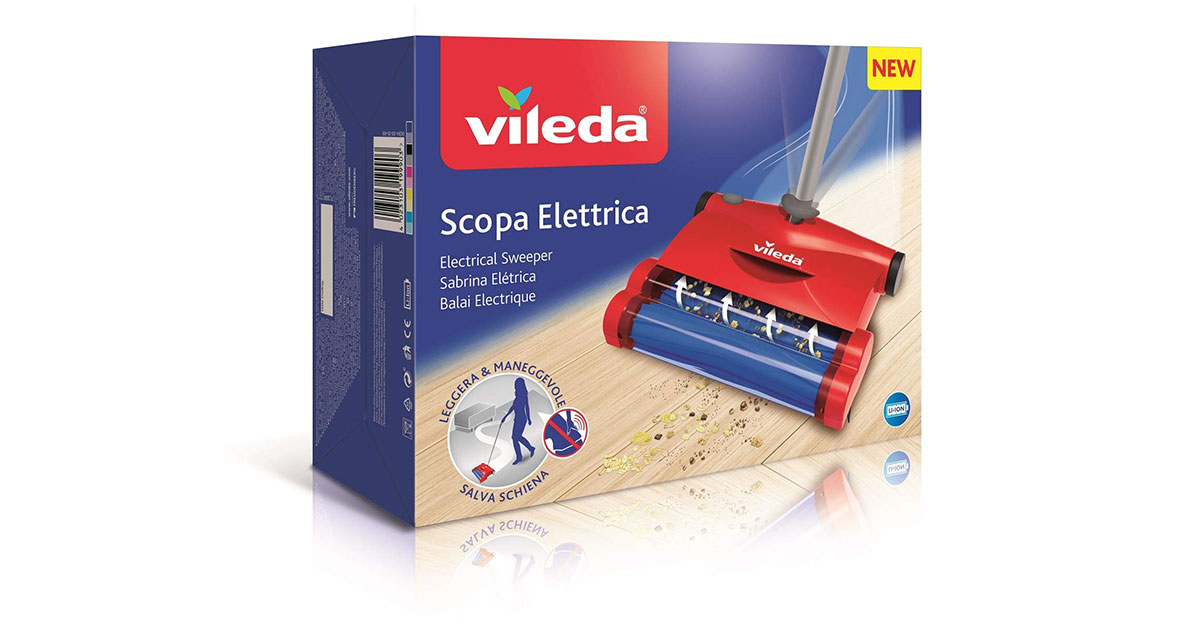 You are currently viewing Scopa elettrica Vileda